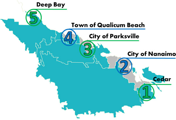 2012 Green Building Series Map