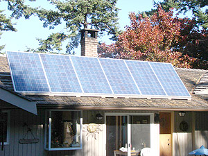 Residential Wind and Solar Power Systems in Nanoose