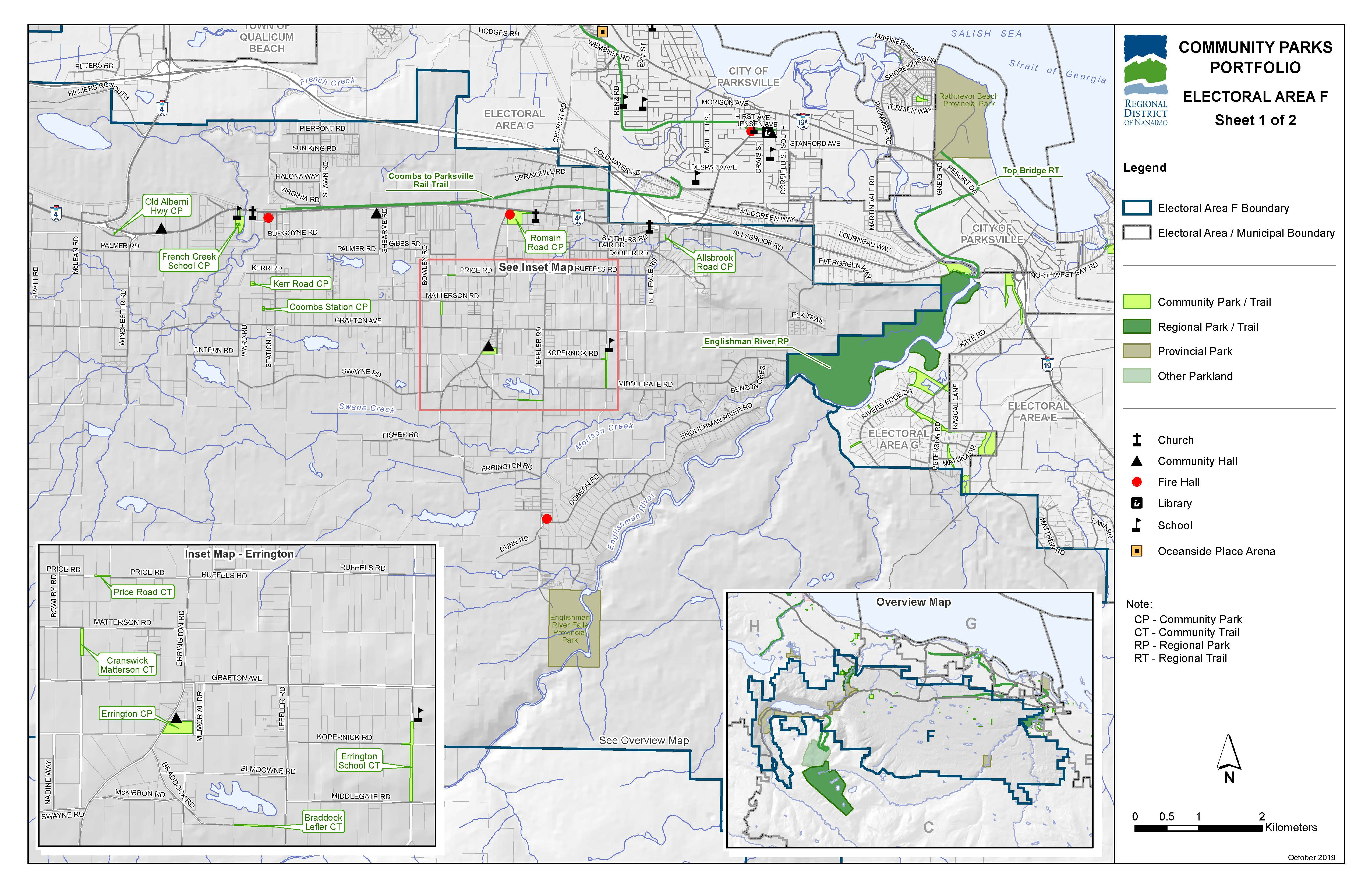 Community Parks and Trails for Area F (East)