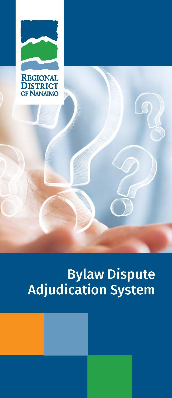 Bylaw Adjudication Brochure