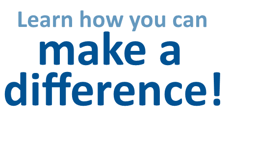 Learn how you can make a difference